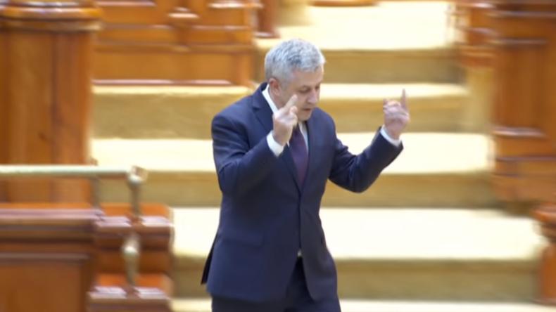 F*** you EU? - Rumänischer Spitzenpolitiker greift Brüssel an und zeigt doppelten Mittelfinger