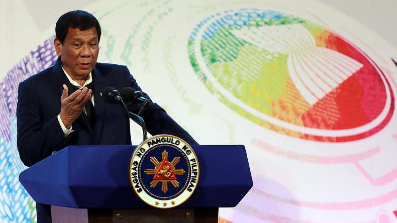 Duterte: China ist bereits im Besitz des Südchinesischen Meeres, warum also Spannungen provozieren?