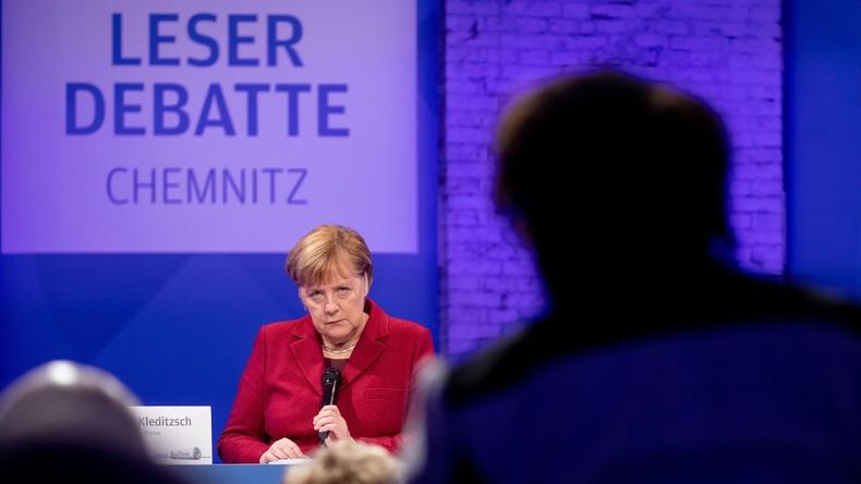 Merkel in Chemnitz: Immer mehr vom Ewiggleichen