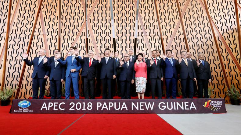 USA und China überziehen sich auf APEC-Gipfel mit Vorwürfen