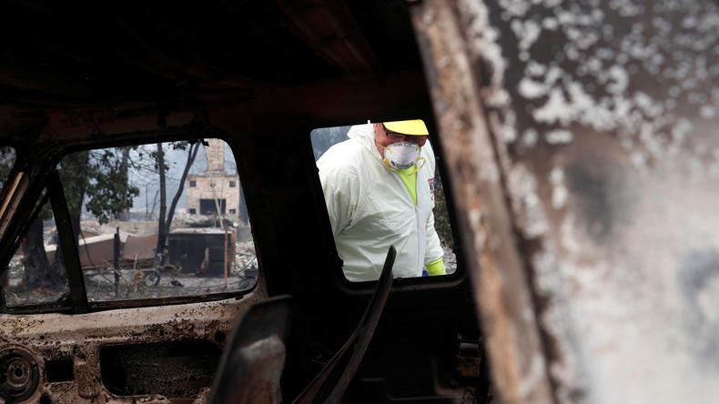 Zahl der Toten durch Großbrände in Nordkalifornien steigt auf mehr als 70 an