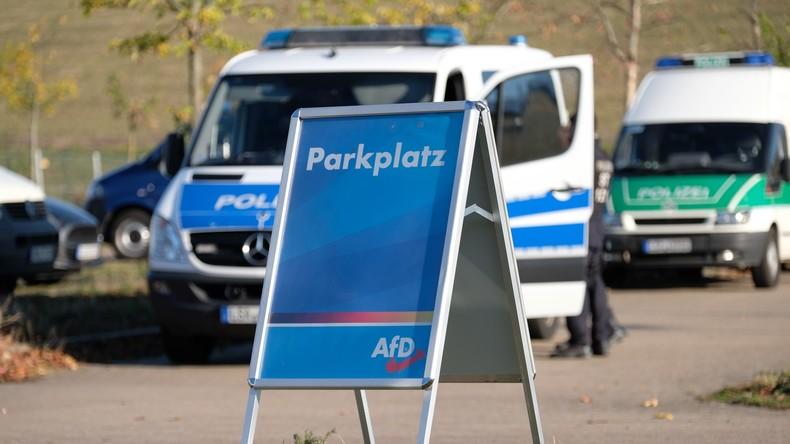 Angriff am Rande des AfD-Parteitags – Polizei schließt politischen Hintergrund nicht aus
