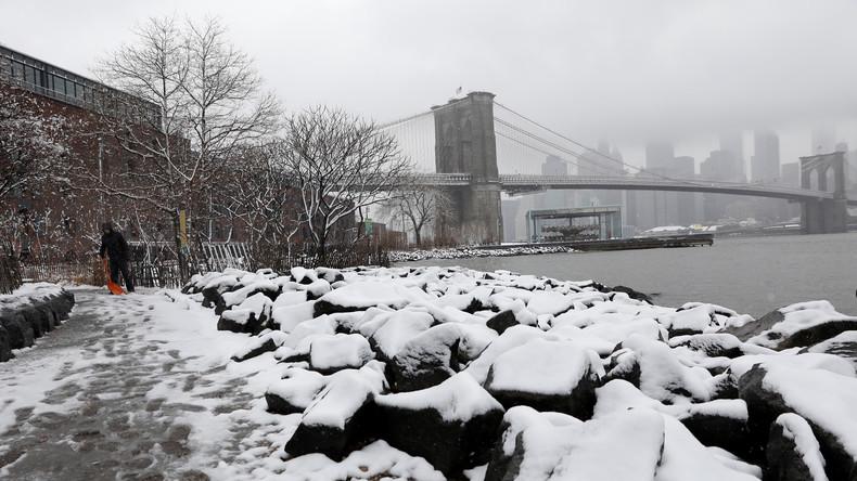 Tote und Stromausfälle durch Winterstürme in USA
