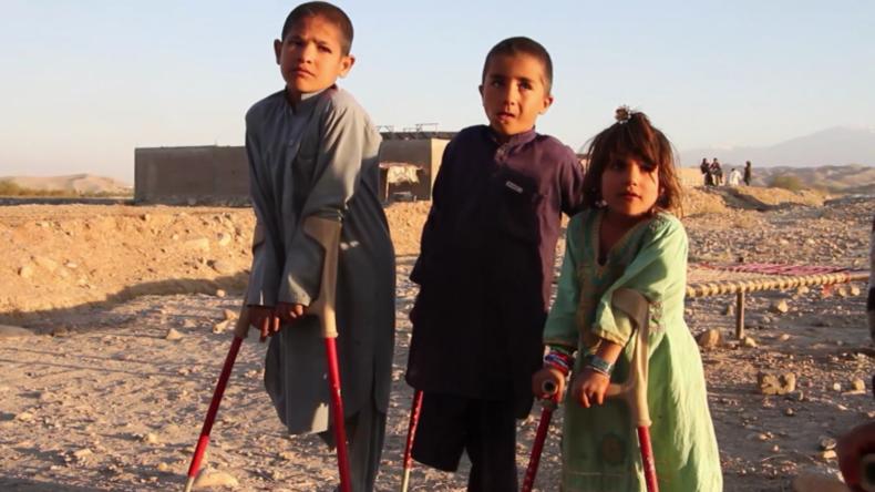 Afghanistan: Sechs durch Explosion verletzte Geschwister und ein Cousin lernen wieder zu laufen