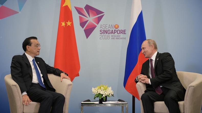 Peking: China will die Handels- und Energiezusammenarbeit mit Russland verstärken