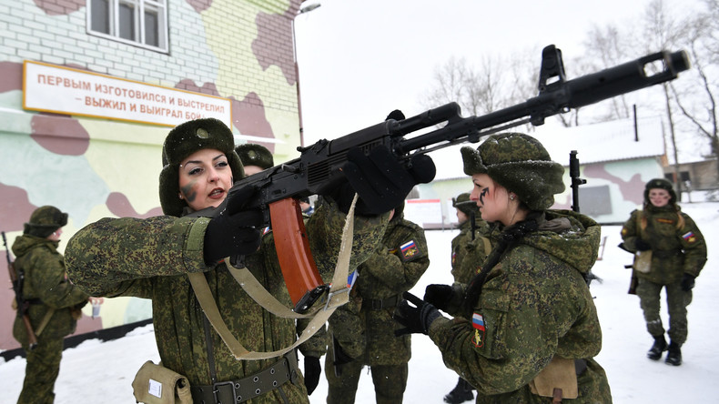Weil sie nicht als Scharfschützen dienen dürfen: Russinnen verklagen Nationalgarde