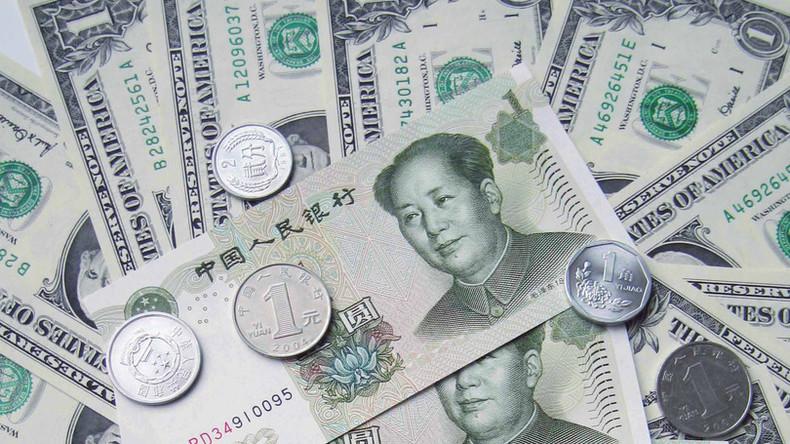 China wirft größte Menge an US-Schuldscheinen innerhalb der letzten acht Monate ab