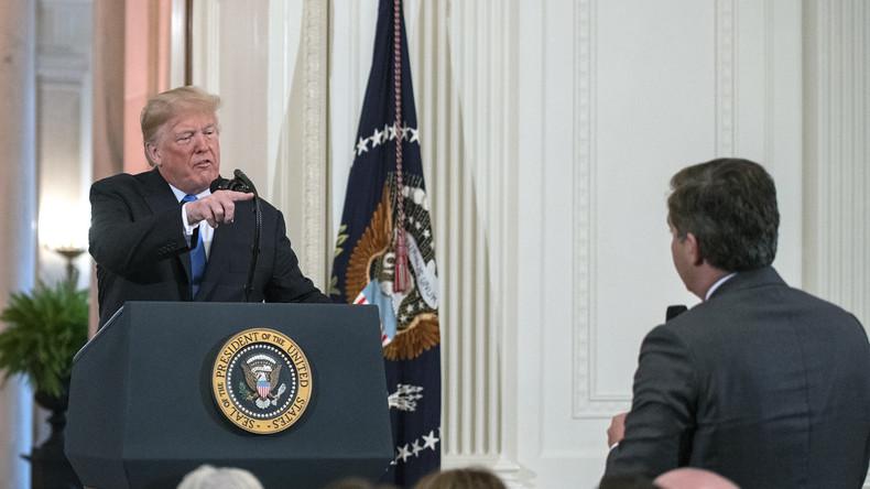 Nach Streit um CNN-Korrespondenten: Weißes Haus erlässt formelle Regeln für Pressekonferenzen