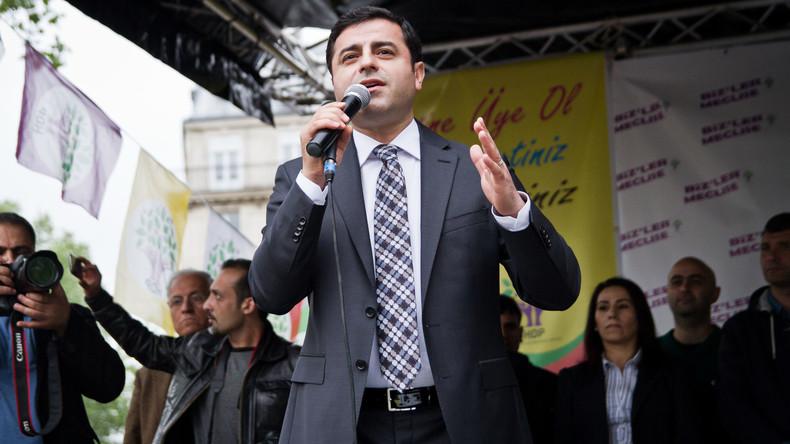 Europäischer Gerichtshof für Menschenrechte: U-Haft von Kurdenpolitiker Demirtas in der Türkei unrechtsmäßig