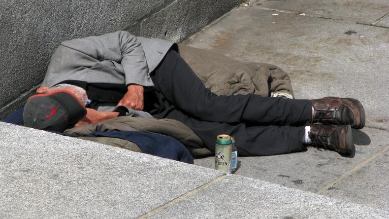 Willkommen in der realen Dystopie: Dortmund bestraft Obdachlose, weil sie auf der Straße schlafen