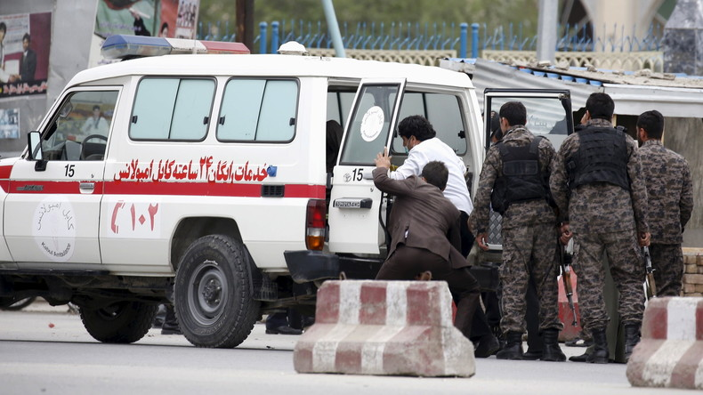 Mindestens 43 Tote bei Explosion in Kabul