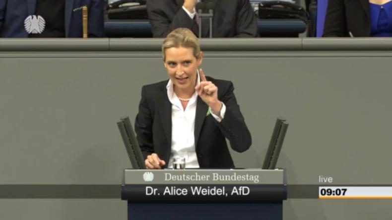 """""""Wer im Glashaus sitzt"""": Weidel spricht zu """"Spenden-Affäre"""" und geht mit Gegner-Parteien ins Gericht"""