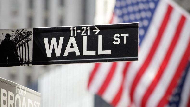 Wall Street: Aktienkurse weiter auf Talfahrt - Jahresplus ist ausgelöscht