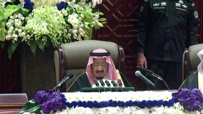"""Saudischer König: Sind stolz auf unsere Scharia-Gesetze und werden den Jemen weiter """"unterstützen"""""""