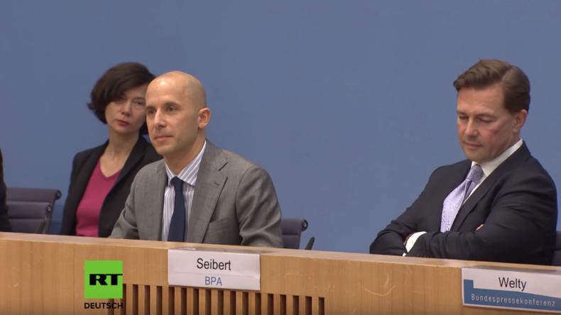 Bundespressekonferenz: War die Evakuierung der Weißhelme völkerrechtswidrig?