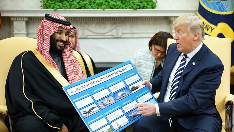 """Trump: Kronprinz war wohl eingeweiht in Khashoggi-Ermordung - Saudis trotzdem """"großer Verbündeter"""""""