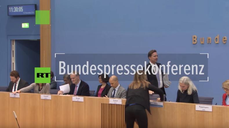 BPK zu deutschen Politikern auf Staatsfeindes-Liste der Ukraine: Kiew führt Bundesregierung vor