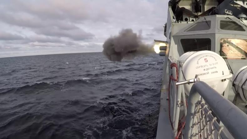 """Ostsee: """"Torpedo-Duell"""" zwischen russischer Korvette und U-Boot"""