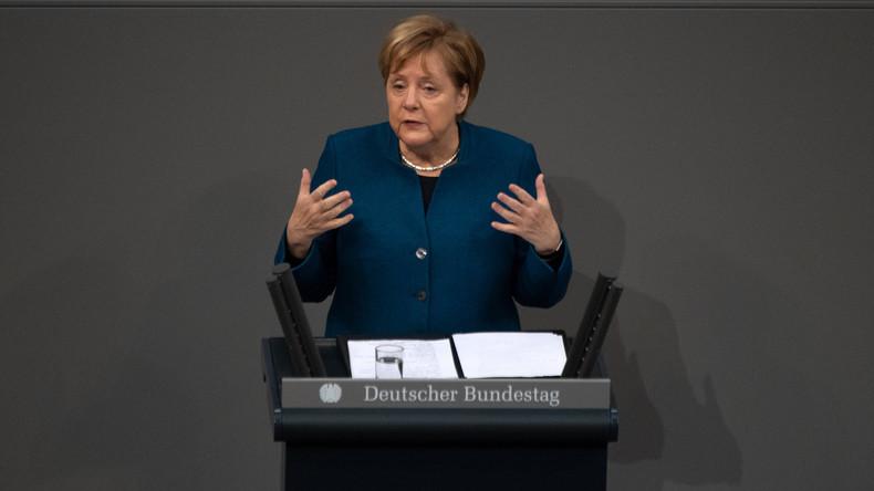Debatte im Bundestag – Scharfe Kritik der Opposition und Merkels Werben um den Migrationspakt