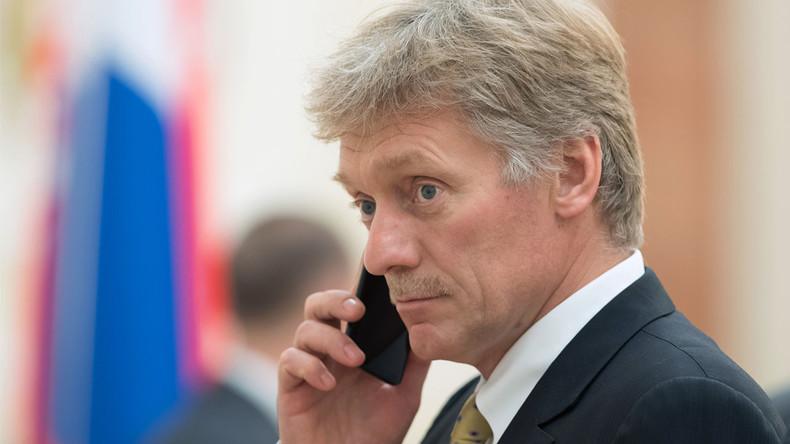 """Kremlsprecher Peskow: Interpol-Wahlen """"in Atmosphäre des Drucks und der Einmischung"""""""
