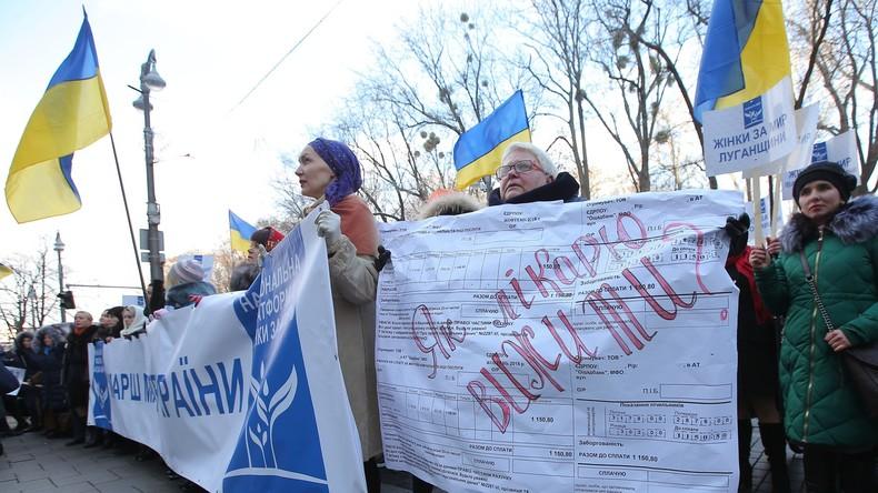Dem Bankrott entkommen: Ganze Städte erfrieren nach Erhöhung der Heizkosten in der Ukraine