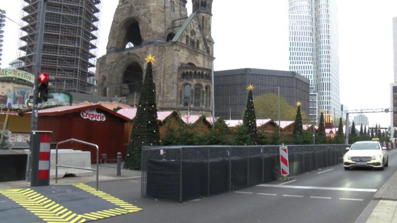 Hochsicherheits-Weihnachtsmarkt? Terrorschutz-Maßnahmen verwandeln Breitscheidplatz in eine Festung