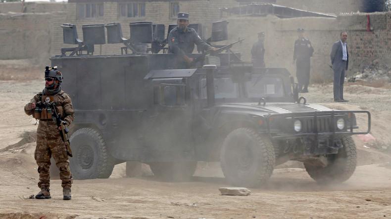 20 Tote bei Selbstmordanschlag auf afghanische Militärbasis