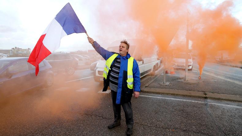 """Steigende Popularität: Fast 80 Prozent der Franzosen sympathisieren mit """"Gelbwesten"""""""