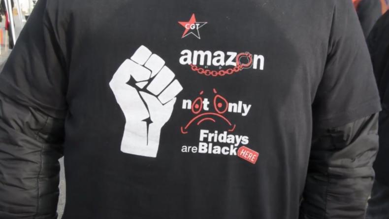 Spanien: Streikende Amazon-Mitarbeiter sagen Nein zum Schwarzen Freitag