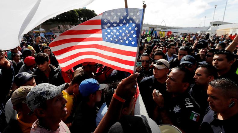 """US-Präsident Donald Trump zu Migranten-Karawane: """"Alle werden in Mexiko bleiben"""""""