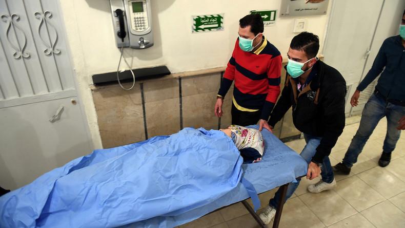 Syrien: 50 Verletzte nach Angriff mit Gas-Granaten auf Aleppo