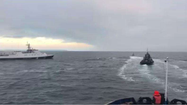 Ukraine provoziert militärische Konfrontation in der Nähe der Krim
