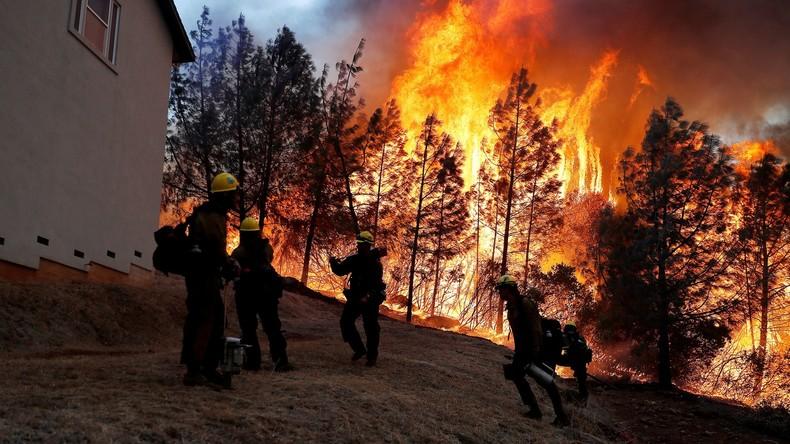 Brände in Kalifornien komplett eingedämmt - Immense Schäden bleiben