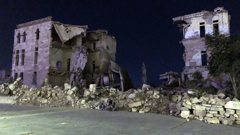 Russische ABC-Abwehrtruppen bestätigen: Aleppo von Terroristen mit Gift kontaminiert