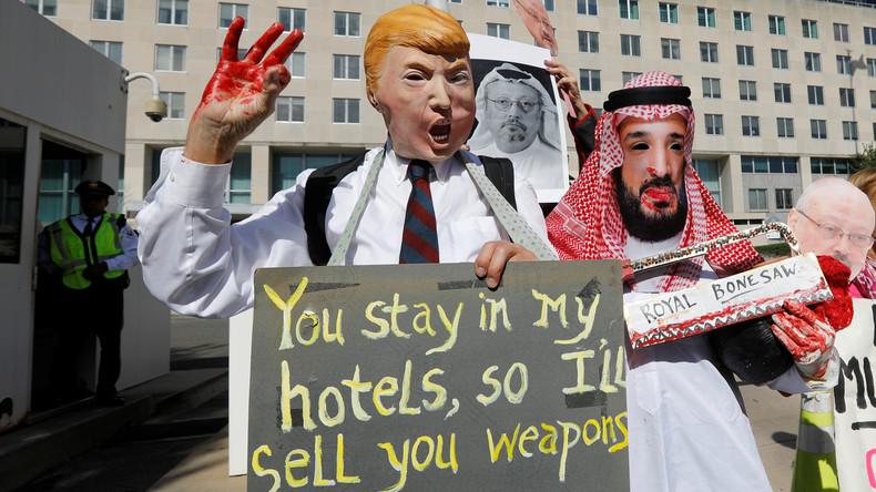 Mordsgeschäfte über alles - Donald Trump und der Fall Khashoggi