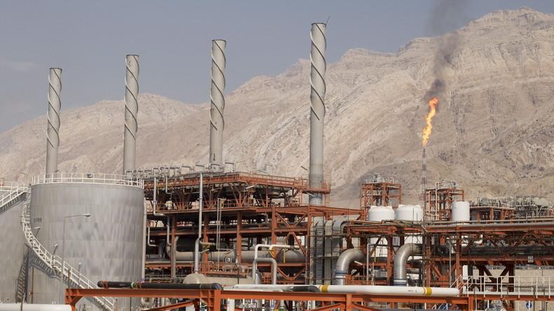 Chinesische CNPC übernimmt iranisches Gasprojekt vom französischen Energieunternehmen Total