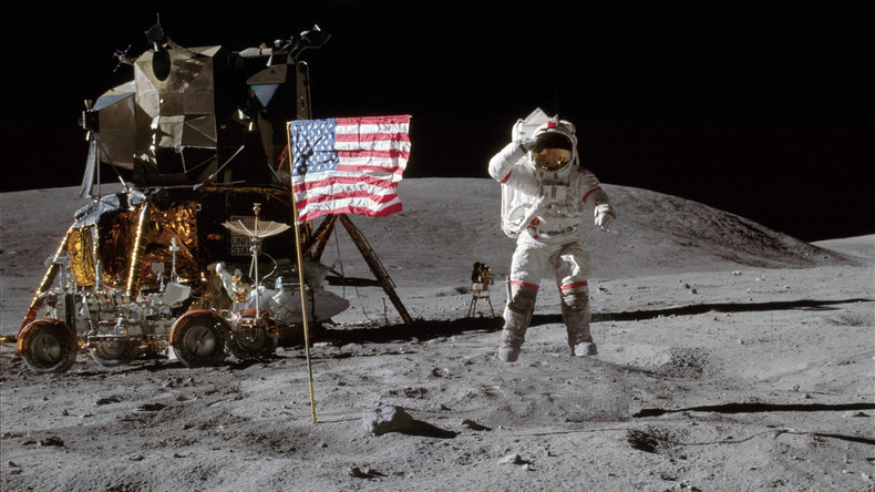 Russischer Raumfahrtchef: Wir prüfen, ob die Amerikaner tatsächlich auf dem Mond waren