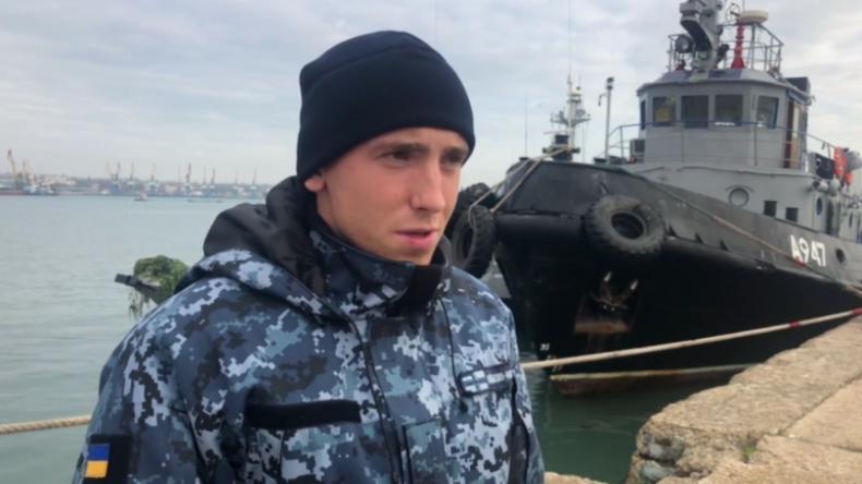 Zusammenstoß in der Straße von Kertsch: Festgenommene ukrainische Soldaten schildern Vorfall