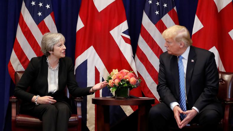 """""""Nur gut für die EU"""": Trump kritisiert Mays Brexit Abkommen"""