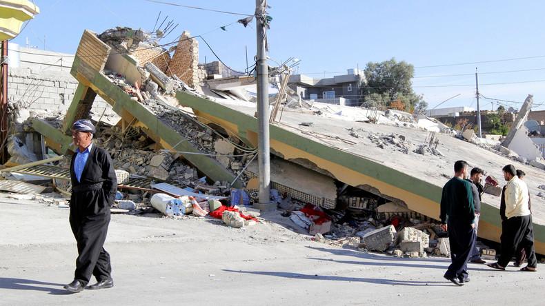 Zahl der Erdbebenopfer im Iran auf fast 800 gestiegen