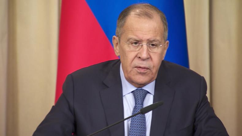 """Lawrow erklärt """"ukrainische Provokation"""" vor der Krim: Sanktionen und Wahlbeeinflussung zum Ziel"""