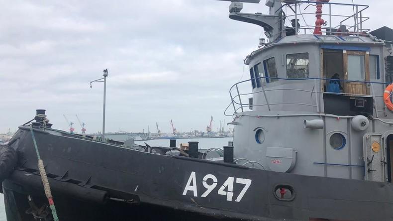 FSB veröffentlicht Liste mit Waffen und Dokumenten an Bord der beschlagnahmten Schiffe