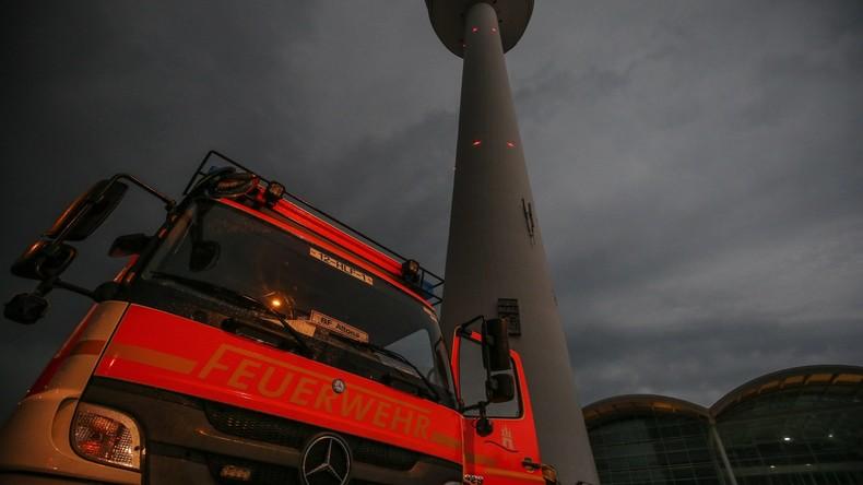 Hamburger hielt Abendrot für Brand und rief die Feuerwehr