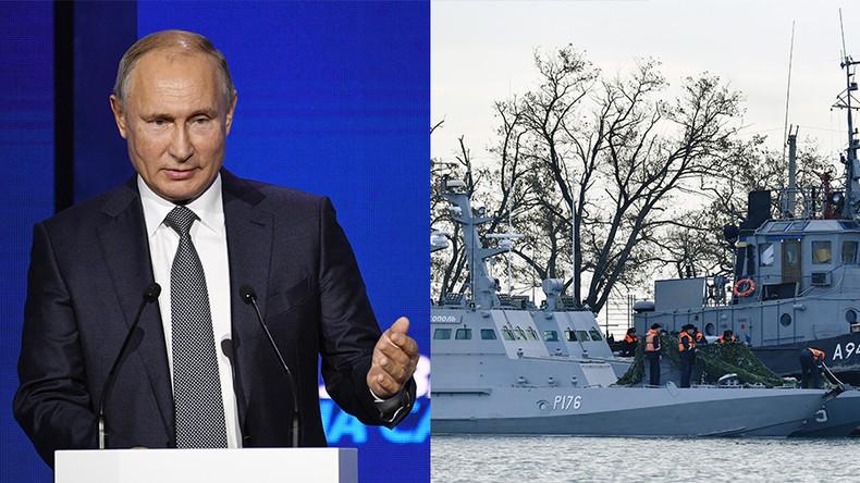 """Putin: """"Kiew würde selbst damit durchkommen, wenn sie Babys zum Frühstück essen wollten"""""""