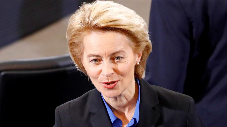 """VonderLeyenkritisiert Russland und will """"ArmeederEuropäer"""""""