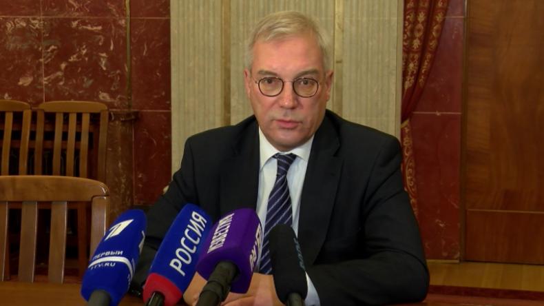 Vize-Außenminister Russlands in Berlin: EU glaubt offenbar nicht an Poroschenkos Kertsch-Geschichte