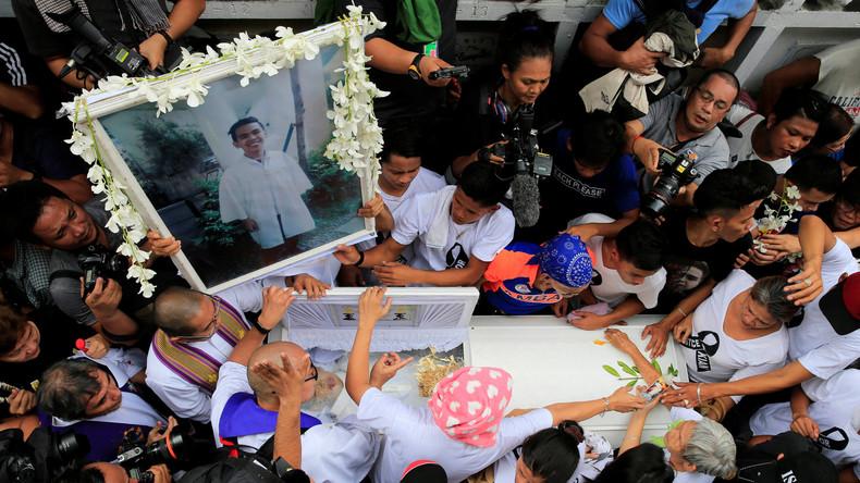 Erstes Mordurteil gegen Polizisten im philippinischen Anti-Drogen-Kampf gefällt