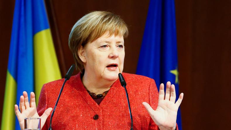"""Keine militärische Lösung – Merkel mahnt Ukraine, """"klug zu sein"""""""