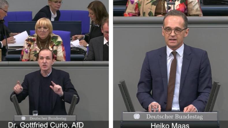 Wenn Welten aufeinanderprallen: Reden von Heiko Maas und AfD-Mann Curio gegenübergestellt