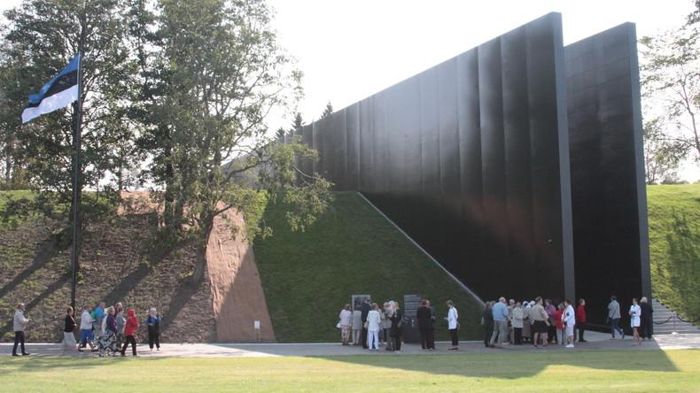 Denkmal für die Opfer des Kommunismus in Estland beschädigt
